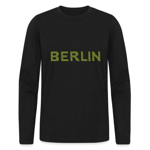BERLIN dots-font - Men's Long Sleeve T-Shirt by Next Level