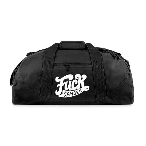 FU*K CANCER - DUFFEL BAG (BLACK) - Duffel Bag
