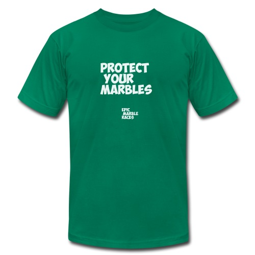 Protect Your Marbles - Men's Fine Jersey T-Shirt