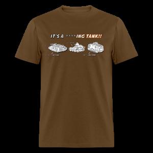 It's A Tank!!! (Censored) - Men's T-Shirt