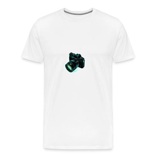 BlueGreen Camera Men's Tee - Men's Premium T-Shirt