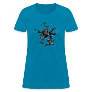 Unleash the Kraken v1 - BoltRC (womens) - Women's T-Shirt