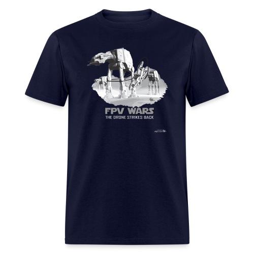 FPV WARS - Drones Strike Back (mens) - Men's T-Shirt