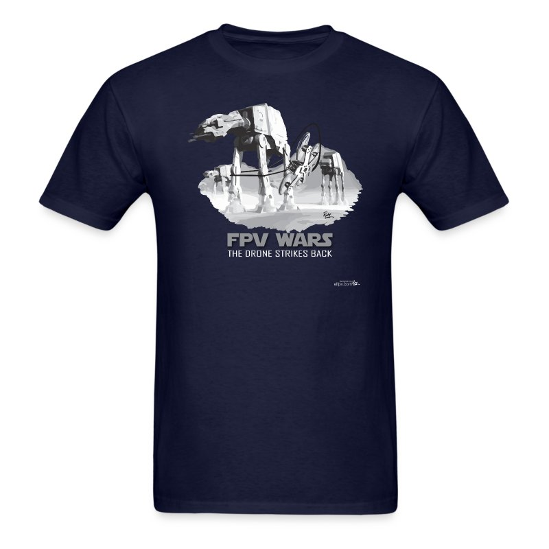 FPV WARS - Drones Strike Back (mens) - Men's T-Shirt