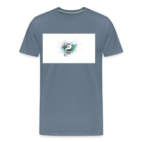 Plazas grey t shirt  - Men's Premium T-Shirt