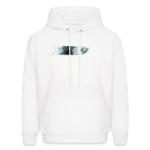 Plazas white hoodie - Men's Hoodie