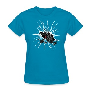 Alien Smash (womens) - Women's T-Shirt