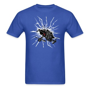 Alien Smash (mens) - Men's T-Shirt