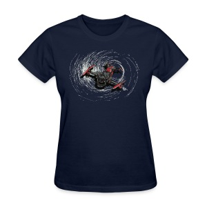 Vortex v1 (womens) - Women's T-Shirt