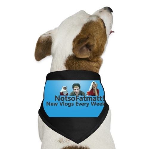 NotsoFatDoggo - Dog Bandana