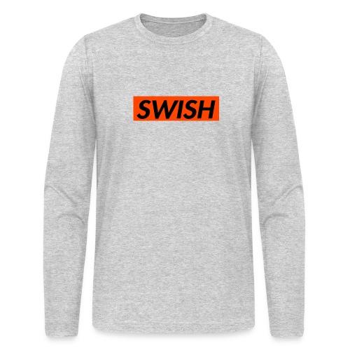 SWISH Men's Long Sleeve Shirt - Men's Long Sleeve T-Shirt by Next Level