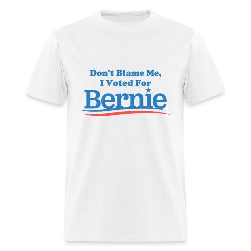 Men's White Don't Blame Me T-shirt - Men's T-Shirt