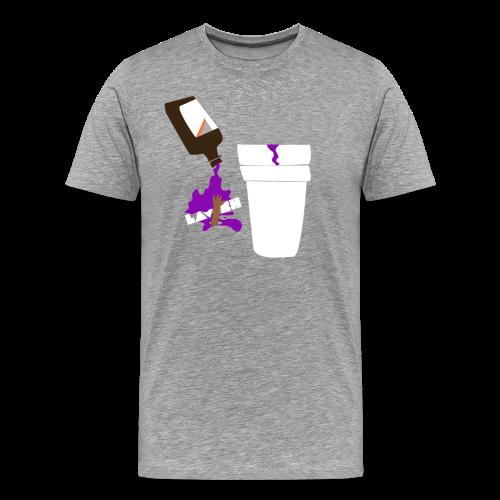 Purp Edition Hoodie (Grey) - Men's Premium T-Shirt