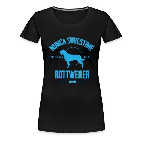 Nunca Rottweiler - Women's Premium T-Shirt