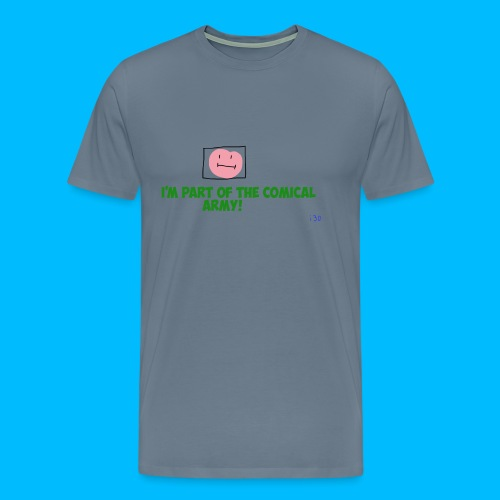 Comical Army Men Shirt - Men's Premium T-Shirt
