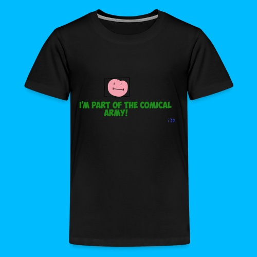 Comical Army Kids Shirt - Kids' Premium T-Shirt
