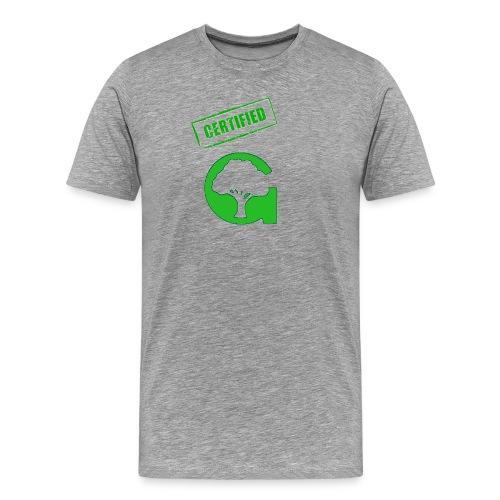 Premium Gaithersburg Certified G shirt - Men's Premium T-Shirt