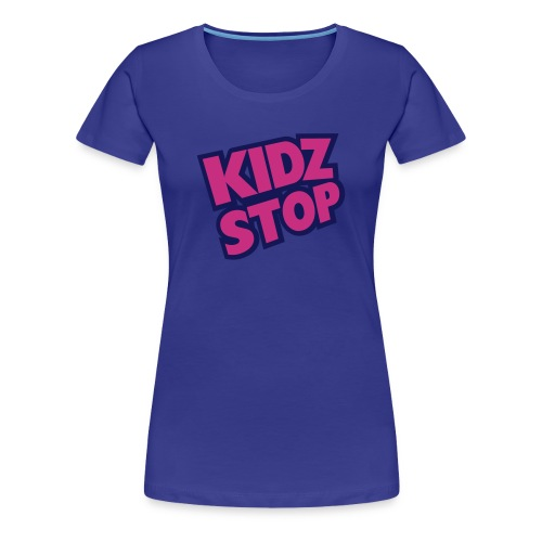 kidz_stop_2color - Women's Premium T-Shirt
