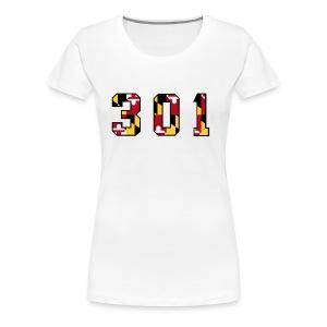 Women's Premium 301 Tee - Women's Premium T-Shirt