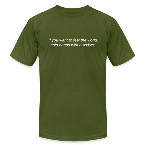 Write Of Way T-Shirt (Olive) - Men's Fine Jersey T-Shirt