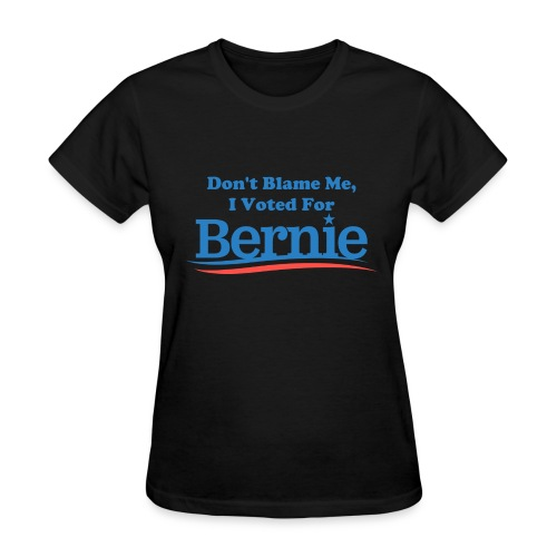 Women's Black Don't Blame Me T-shirt - Women's T-Shirt