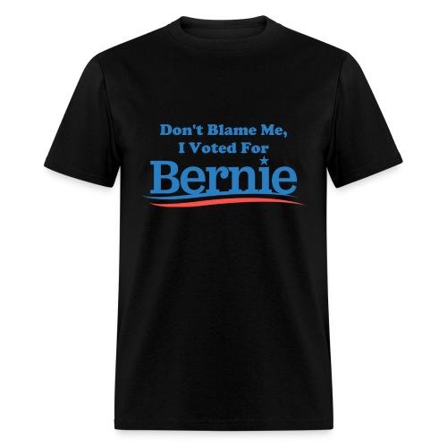 Men's Black Don't Blame Me T-shirt - Men's T-Shirt