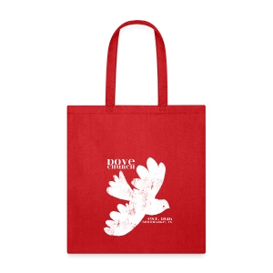 Dove Church Tote - Tote Bag