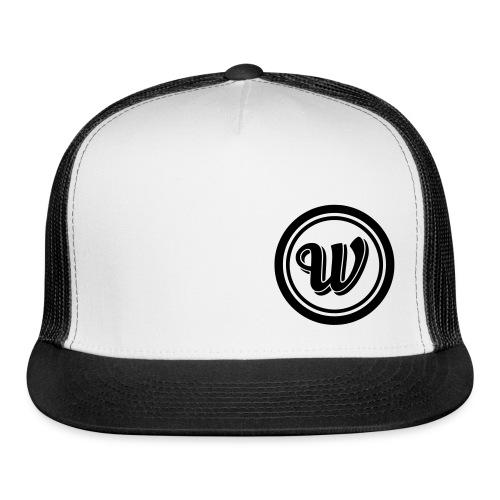 Snapback - Black logo - Trucker Cap