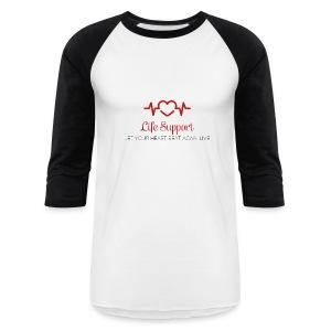 Life Support Tee - Baseball T-Shirt