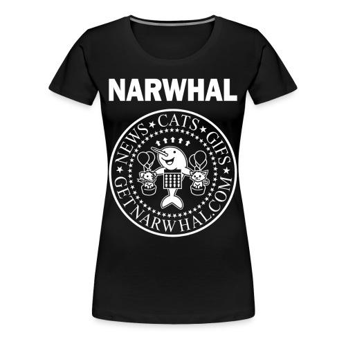 Listen to the Ramones Lady Shirt - Women's Premium T-Shirt