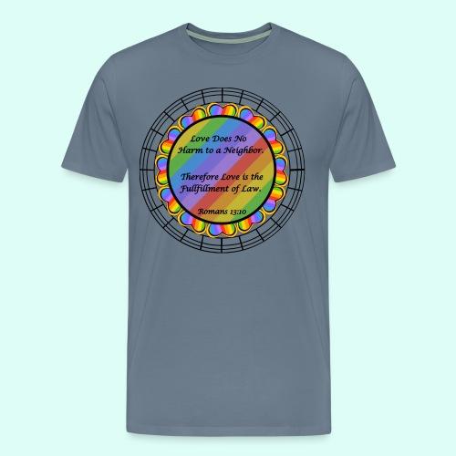 Love does no harm - Men's Premium T-Shirt