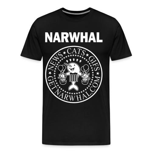 Listen to the Ramones Dude Shirt - Men's Premium T-Shirt