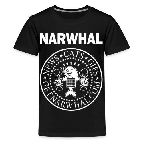 Listen to the Ramones Kid Shirt - Kids' Premium T-Shirt