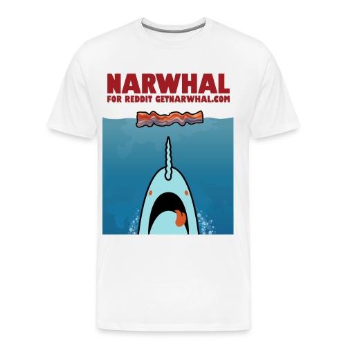 NarJaws Dude Shirt - Men's Premium T-Shirt