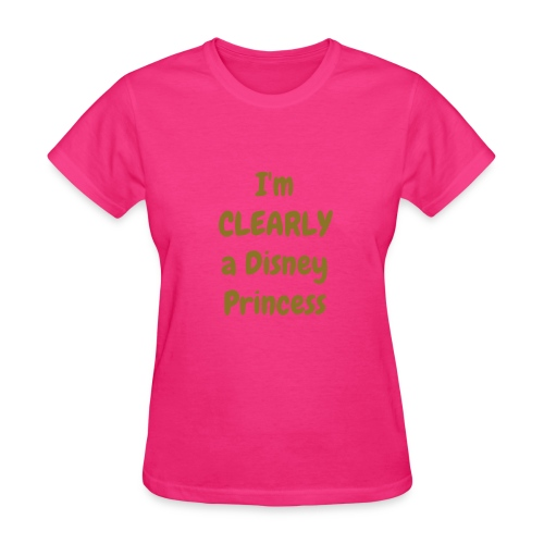 Clearly princess top - Women's T-Shirt