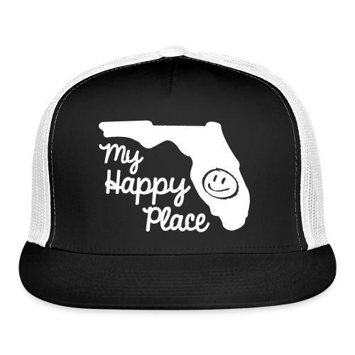 Happy Place Truckers Hat - Trucker Cap