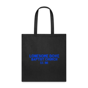 Lonesome Dove Baptist Church Tote - Tote Bag