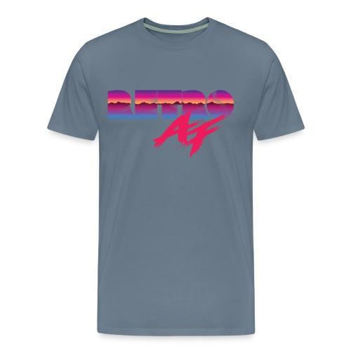 Retro AF Tee - Men's Premium T-Shirt