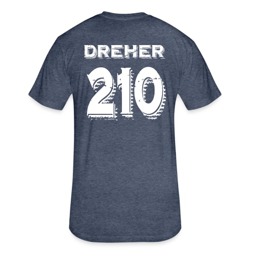 Dreher - Fitted Cotton/Poly T-Shirt by Next Level