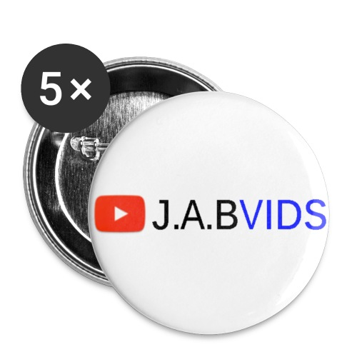 J.A.B Badge  - Small Buttons