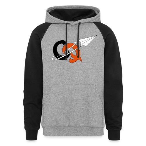CQ heavy hoodie - Colorblock Hoodie