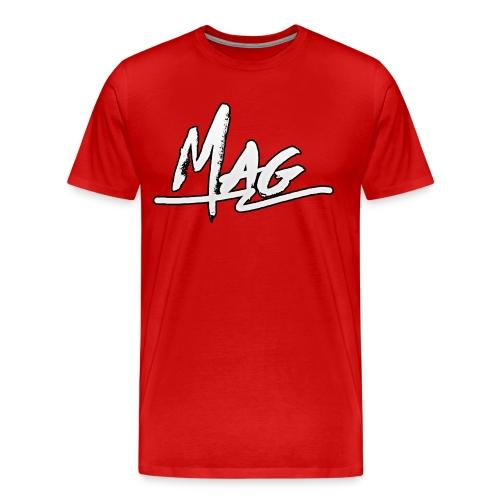 Mag Grafitti Design T-Shirt - Men's Premium T-Shirt
