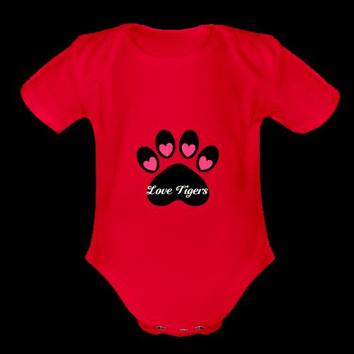 Organic Short Sleeve Baby Bodysuit
