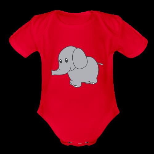 Tide Baby - Organic Short Sleeve Baby Bodysuit