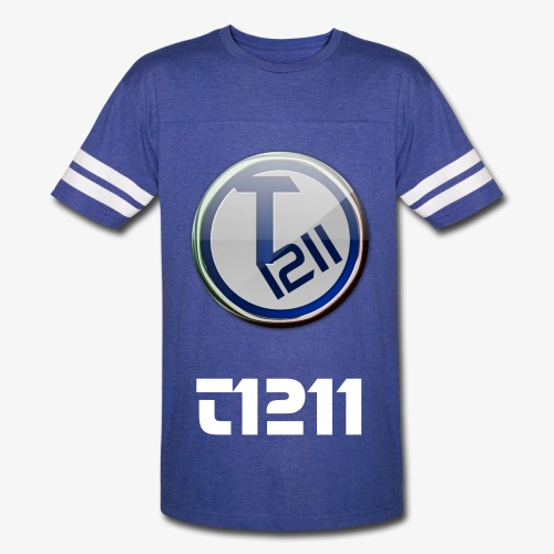 T1211 Striped Tee - Vintage Sport T-Shirt