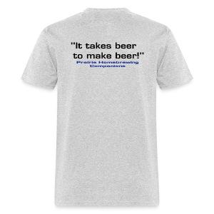 Black Logo and It Takes Beer PHC Shirt - Men's T-Shirt
