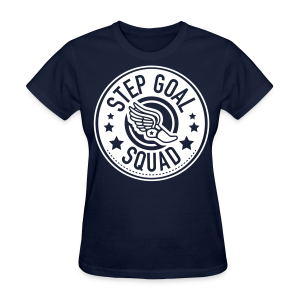 Step Goal Squad #2 Reverse Design - Women's T-Shirt