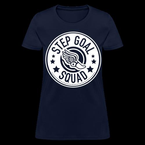 Step Goal Squad #2 Reverse Design - Women's T-Shirt