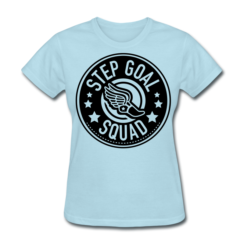 Step Goal Squad #2 Design - Women's T-Shirt
