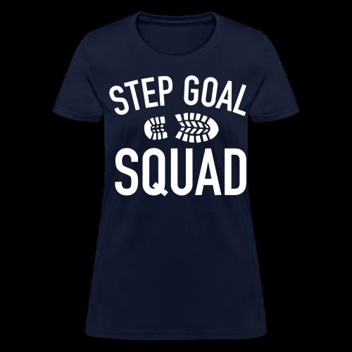 Step Goal Squad #3 Design - Women's T-Shirt